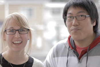 Kristine Miller and Jon Hoi